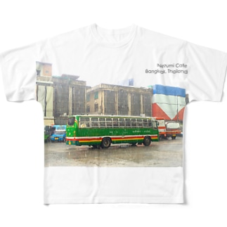 Bangkok, Thailand フルグラフィックTシャツ