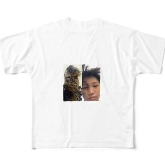 チューバッカTシャツ フルグラフィックTシャツ