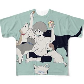 四面楚歌 Full graphic T-shirts