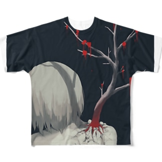 肩こり Full graphic T-shirts