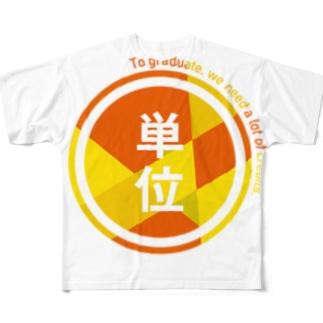 きれいな単位 Full graphic T-shirts