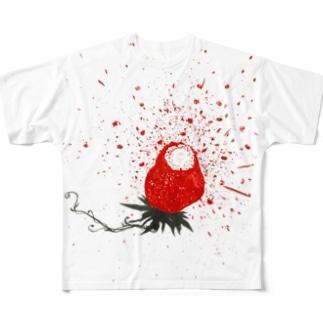 ハジけた〜ストロベリー狂想曲編〜 Full graphic T-shirts