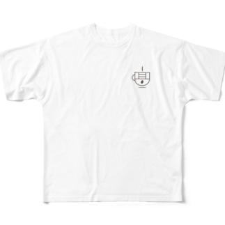 【ロゴのみ】takatani_coffee_goods Full graphic T-shirts