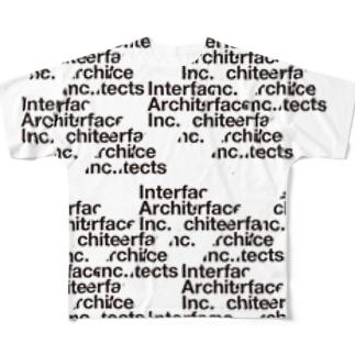 I/A Logo Full graphic T-shirts