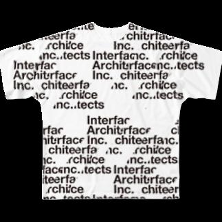 TATEYAMAのI/A Logo Full graphic T-shirts