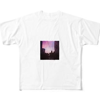 Katamachiii フルグラフィックTシャツ