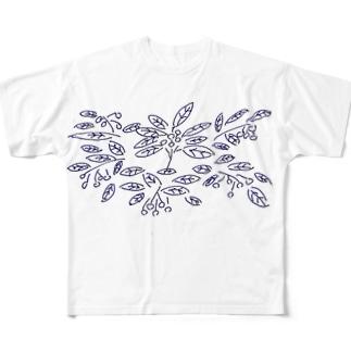 枇杷の絵2018 Full graphic T-shirts