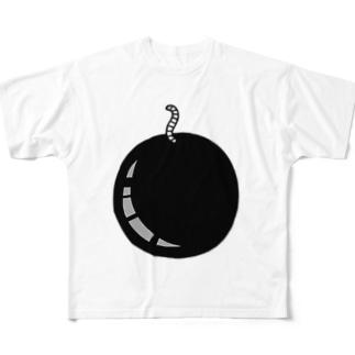 ばくだん Full graphic T-shirts