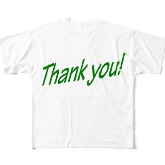 thank you Full graphic T-shirts
