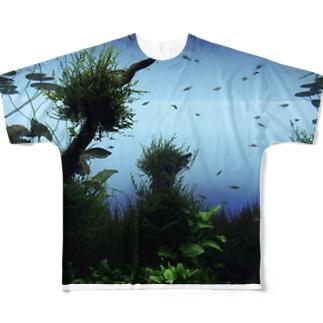 水底から Full graphic T-shirts