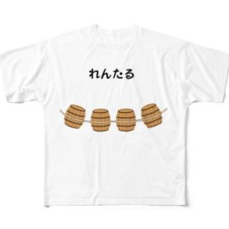 れんたる Full graphic T-shirts
