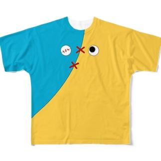 キャッティー0205 Full graphic T-shirts