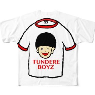 リンガーシャツ Full graphic T-shirts