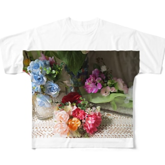 香しき香りNo.10 Full graphic T-shirts
