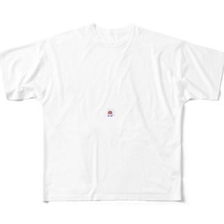 あられちゃんTシャツ フルグラフィックTシャツ