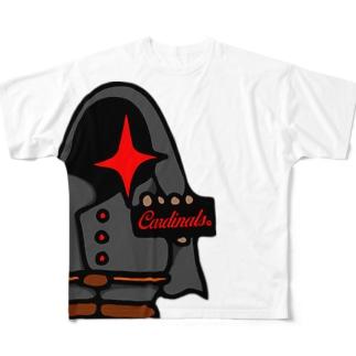 カーデくん Full graphic T-shirts