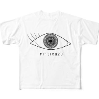 シセン フルグラフィックTシャツ