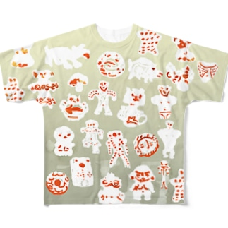 縄文R Full graphic T-shirts