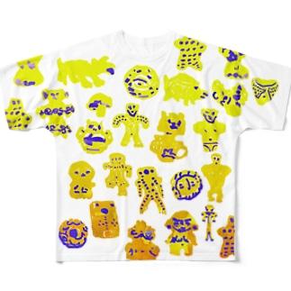 縄文B Full graphic T-shirts