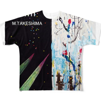 tk4m abstract 1 Full graphic T-shirts