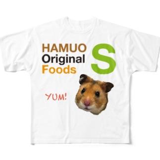 HAMUO ORIGINAL Sシリーズ Full graphic T-shirts