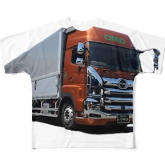 I♥️my truck. フルグラフィックTシャツ