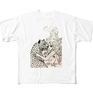 女豹 Full graphic T-shirts