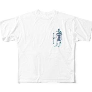 謎多き人 Full graphic T-shirts