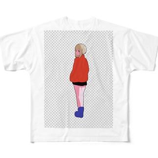 浮 Full graphic T-shirts