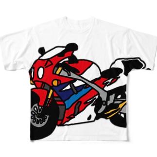 RVF フルグラフィックTシャツ