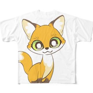 コギツネ Full graphic T-shirts