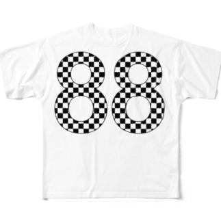 88 フルグラフィックTシャツ