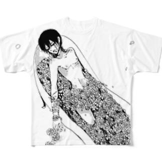 幽煉獄 Ⅱ Full graphic T-shirts