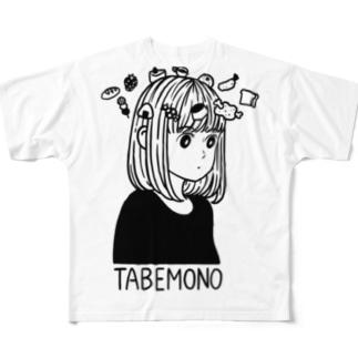 TABEMONO Full graphic T-shirts