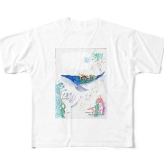 鴉屋    絵本グッズ2 Full graphic T-shirts