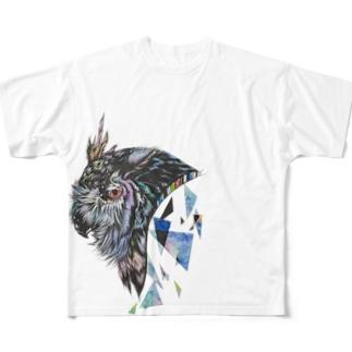 改良版、彩 フルグラフィックTシャツ