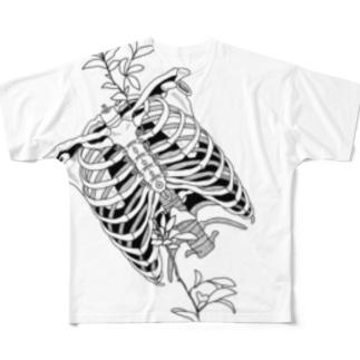 Ribs Full graphic T-shirts