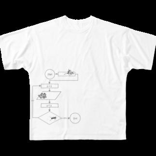 I'm not a robotのAlgorithm Full graphic T-shirts