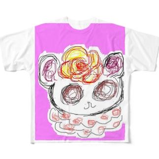 くるくるちゃん Full graphic T-shirts