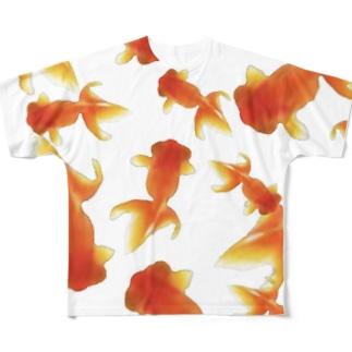 金魚すくい Full graphic T-shirts