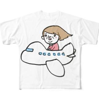 逃避行 Full graphic T-shirts