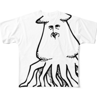 大王イカ様 Full graphic T-shirts
