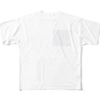 人生上り坂 フルグラフィックTシャツ