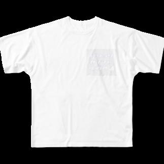 かわいいとはの人生上り坂 フルグラフィックTシャツ