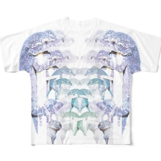ヤモリが出た 9 Full graphic T-shirts