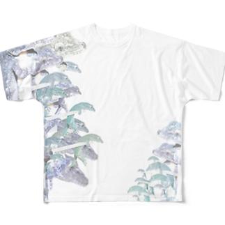 ヤモリが出た 9b Full graphic T-shirts