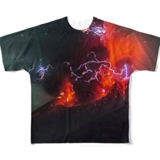 Sakurajima volcano XX1 Full graphic T-shirts