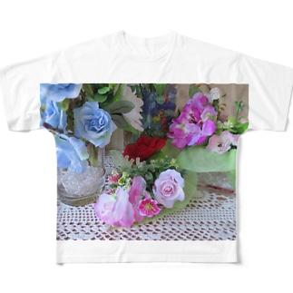 香しき香りNo.15 Full graphic T-shirts