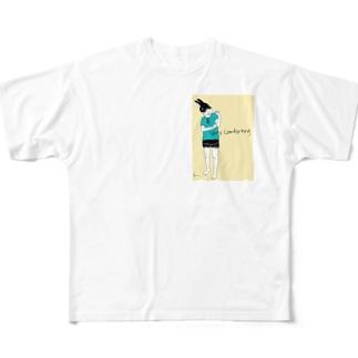 """""""VERY COMFORTING"""" フルグラフィックTシャツ"""