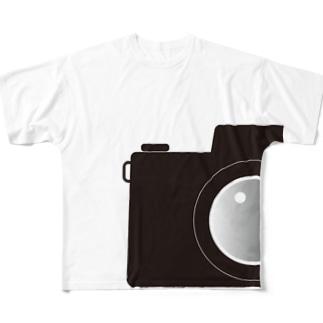 カメラ B Full graphic T-shirts